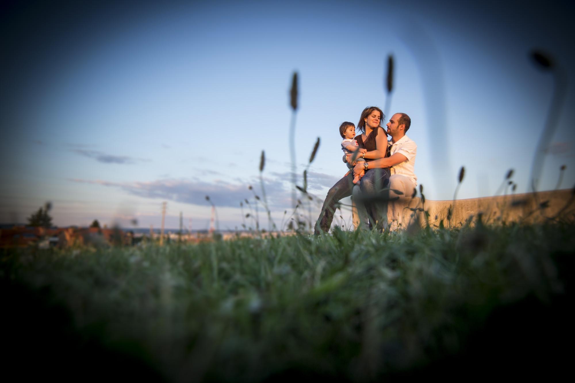 fotos de familia en la naturaleza