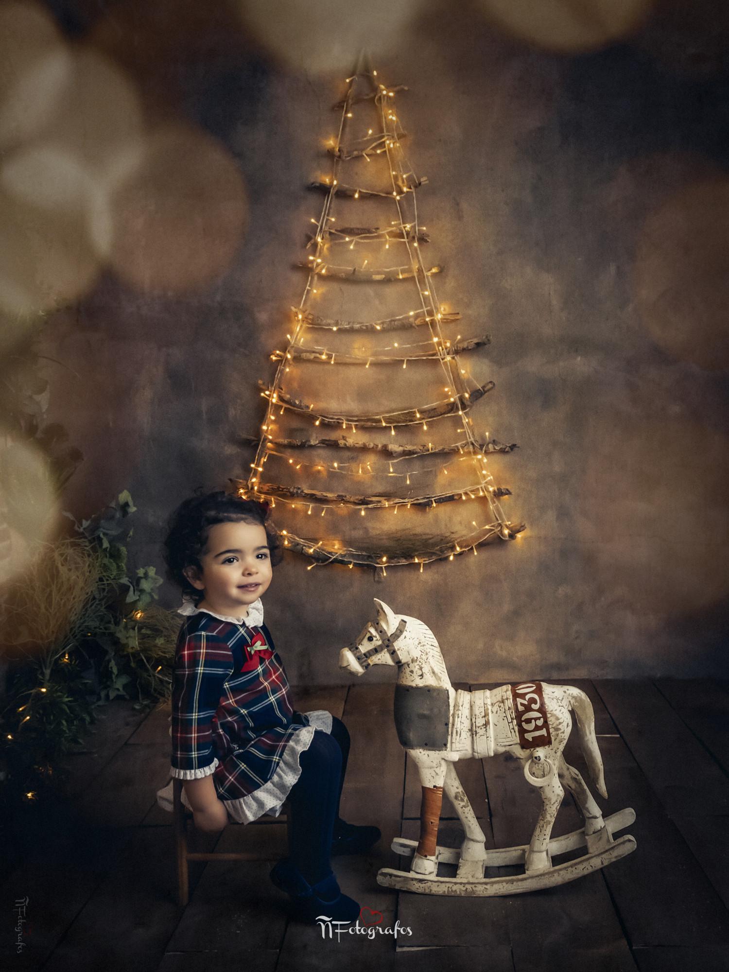 sesión de navidad