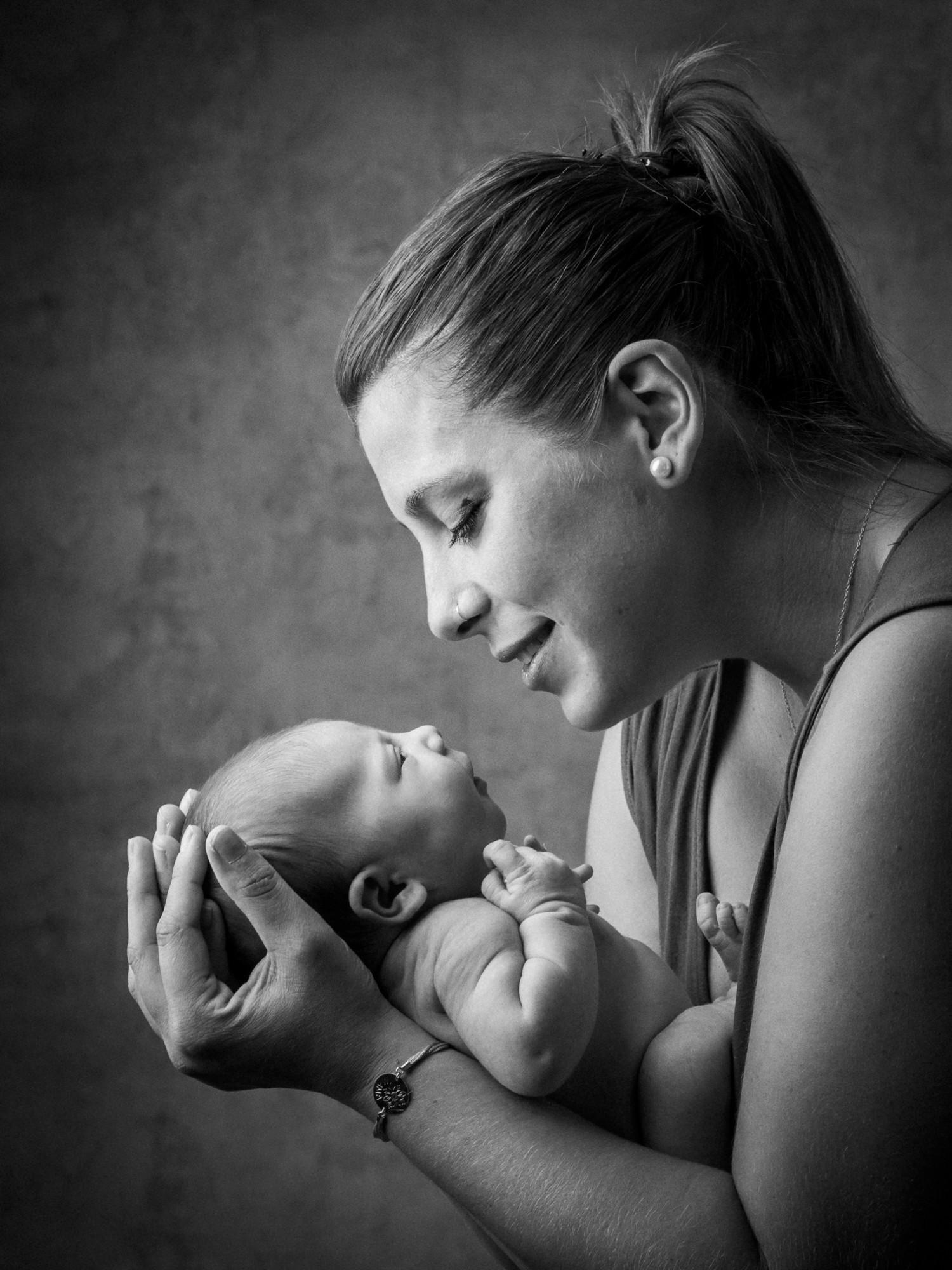 sesión de recién nacido