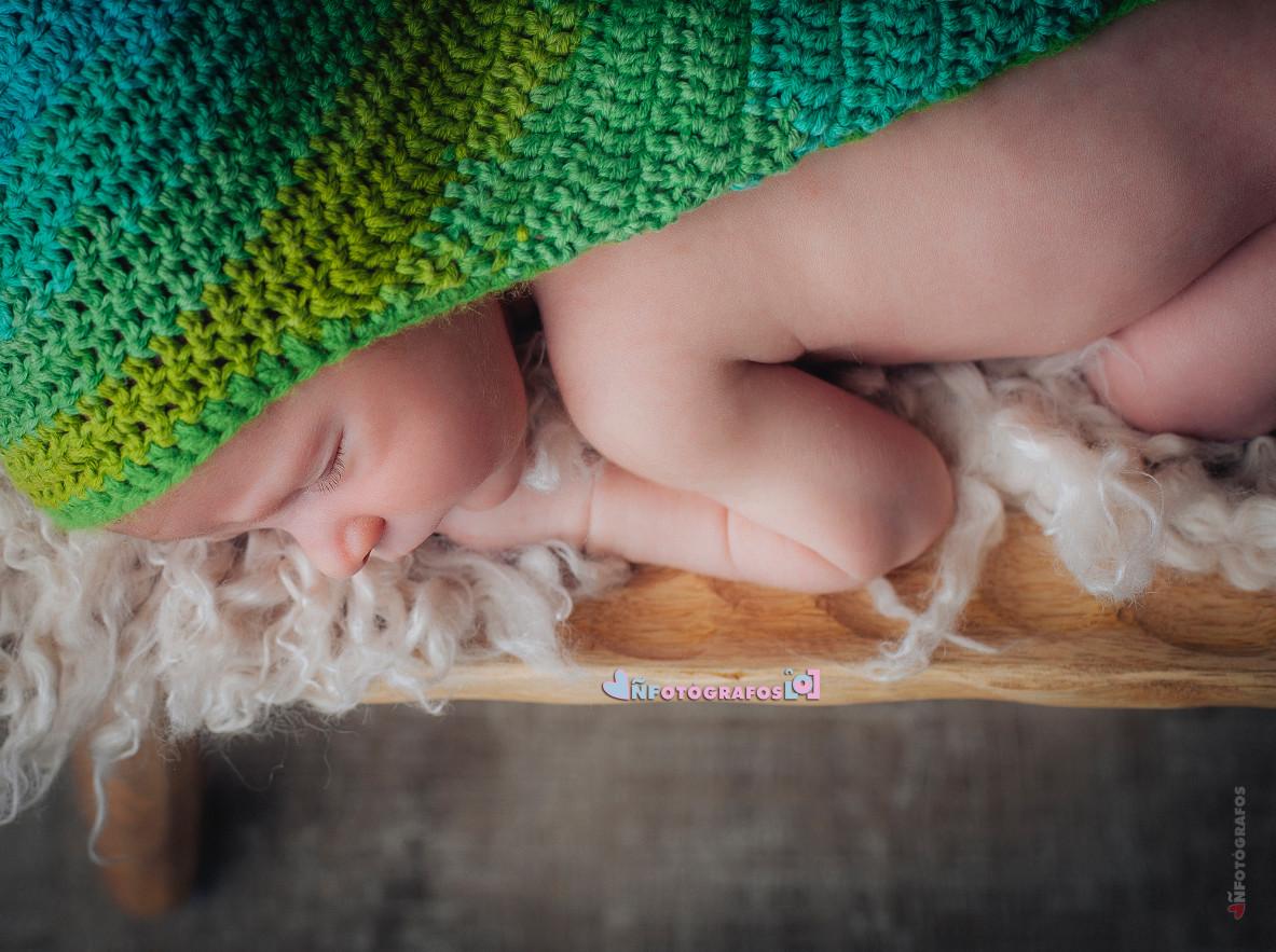 fotografía newborn en Valladolid